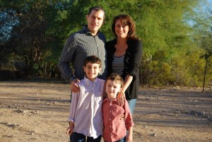 Levitch family spending a year only buying local