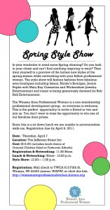 Wausau Profession Women Spring Style Show