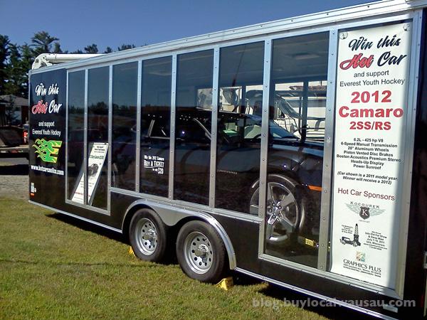 Everest Youth Hockey Association Chevy Camaro Car Raffle