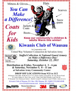 Wausau kiwanis coats for kids 2011