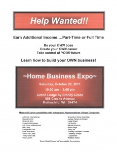 Home based business wausau expo