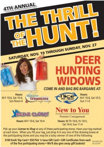 Thrill of the hunt wausau consignment sale