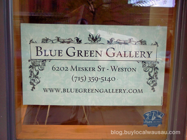 Blue Green Gallery downtown Wausau