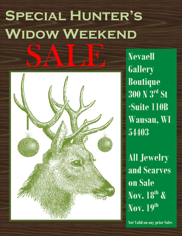 NevaeH weekend sale artisan crafts local wausau relylocal
