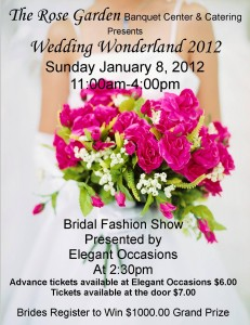 Wausau Wedding Wonderland 2012 bridal fashion show