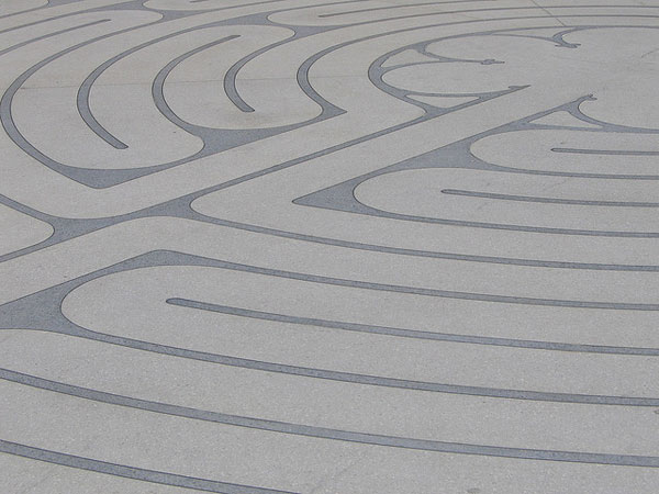 labyrinth image by flickr member aperte