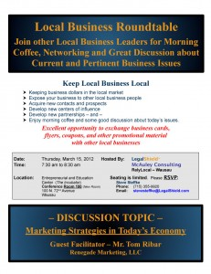 Local business roundtable wausau networking group