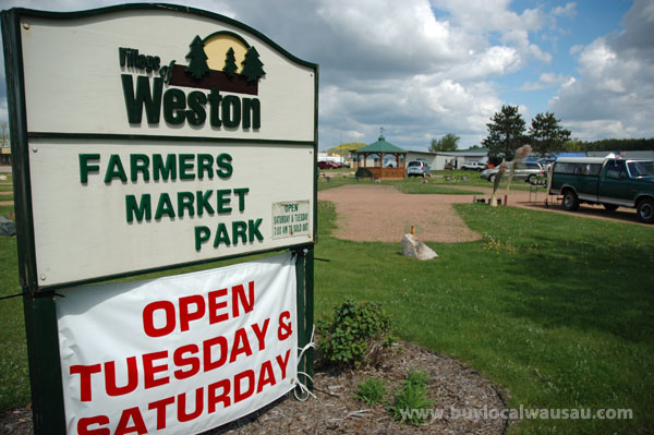 Wausau and Weston Farmers Markets open