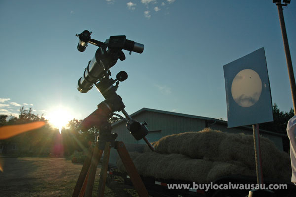 Wausau venus transit telescope