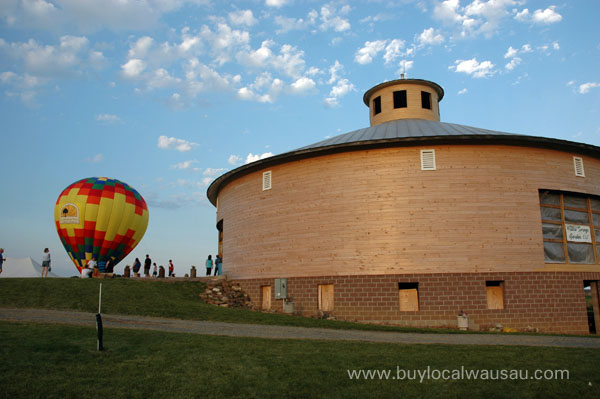 Marathon County Round Barn Willow Springs