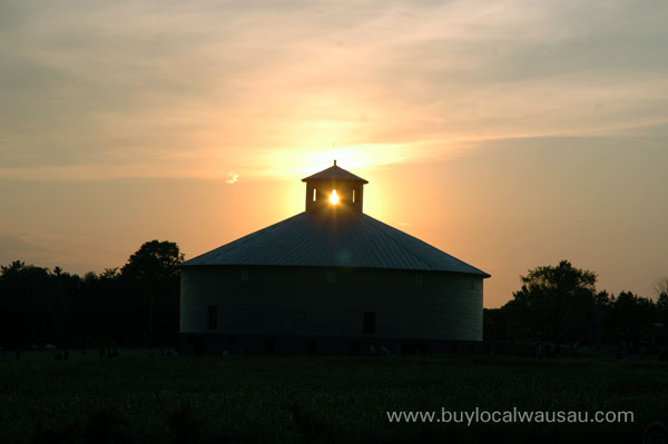 Willow Springs Wausau Marathon County Round Barn