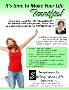 Heidi Farrell motivational speaker wausau