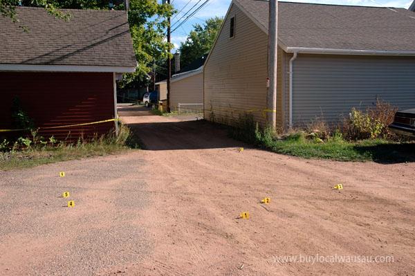 Wausau gunshots prospect street