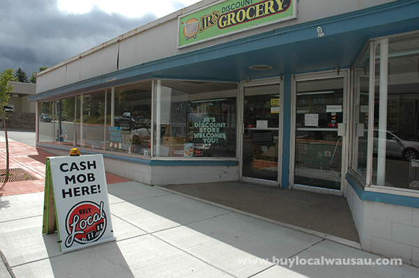Rothschild cash mob a success wausau foodie for Michaels crafts wausau wi