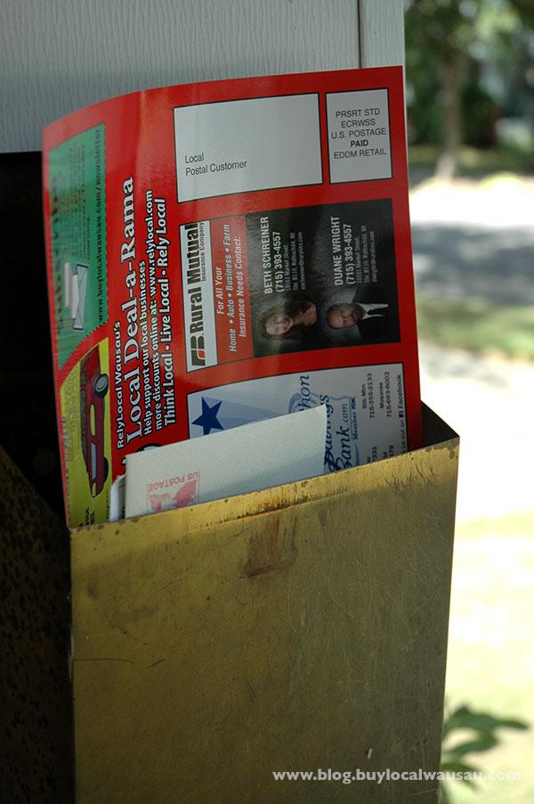 Deal A Rama Postcard Wausau Foodie