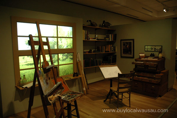 reproduction of gromme studion woodson art museum wausau