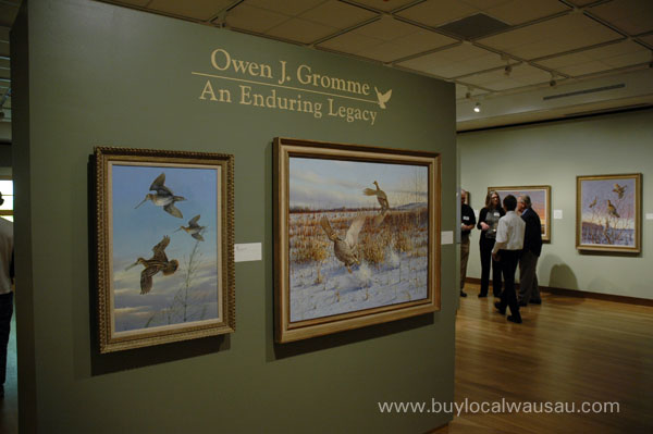 Owen Gromme exhibition woodson art museum