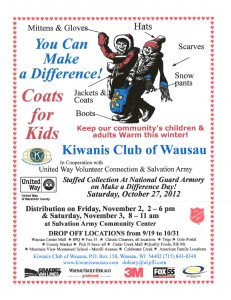 Wausau Coats for Kids