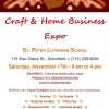 St Peters holiday craft fair