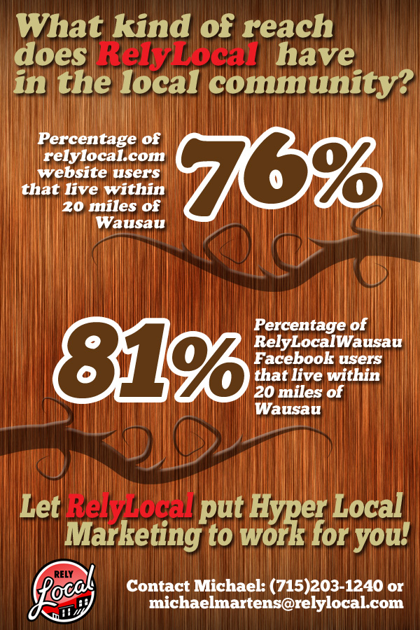 RelyLocal Wausau local reach