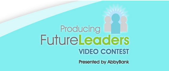 Support Area Students by Voting in AbbyBank's Producing Future Leaders Video Contest