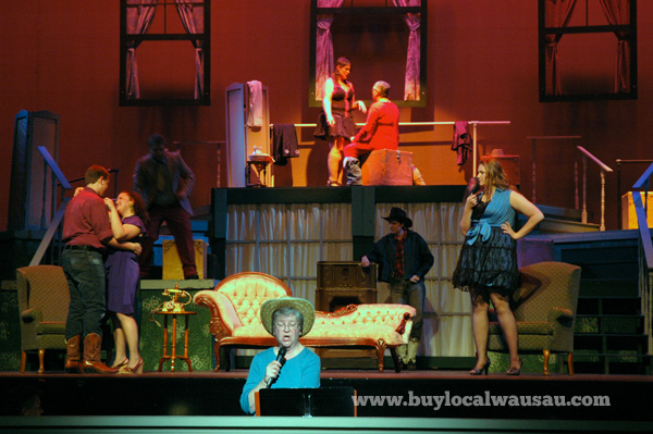Wausau Community Theatre's Best Little Whorehouse in Texas