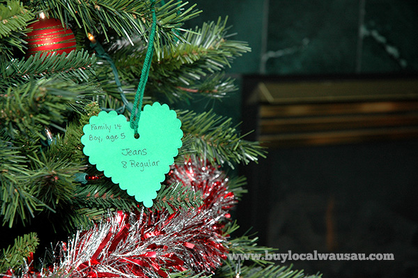 Help those in need with covenant community s christmas for Michaels crafts wausau wi