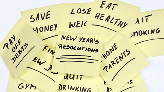 Top 10 New Year's Resolutions (and 4 ways to keep them)