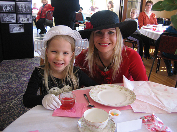 Woodson History Center's Valentine Day Tea