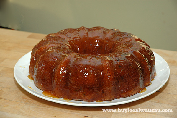Men Who Cook: Rum Cake
