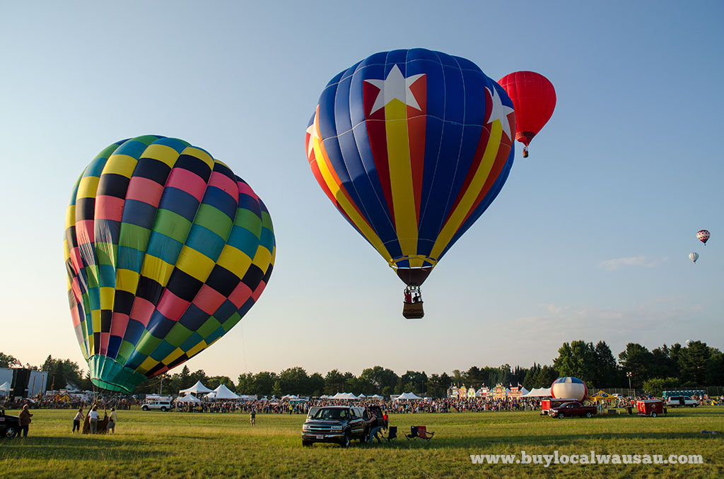 Wausau Event Balloon and Rib Fest Photo Recap