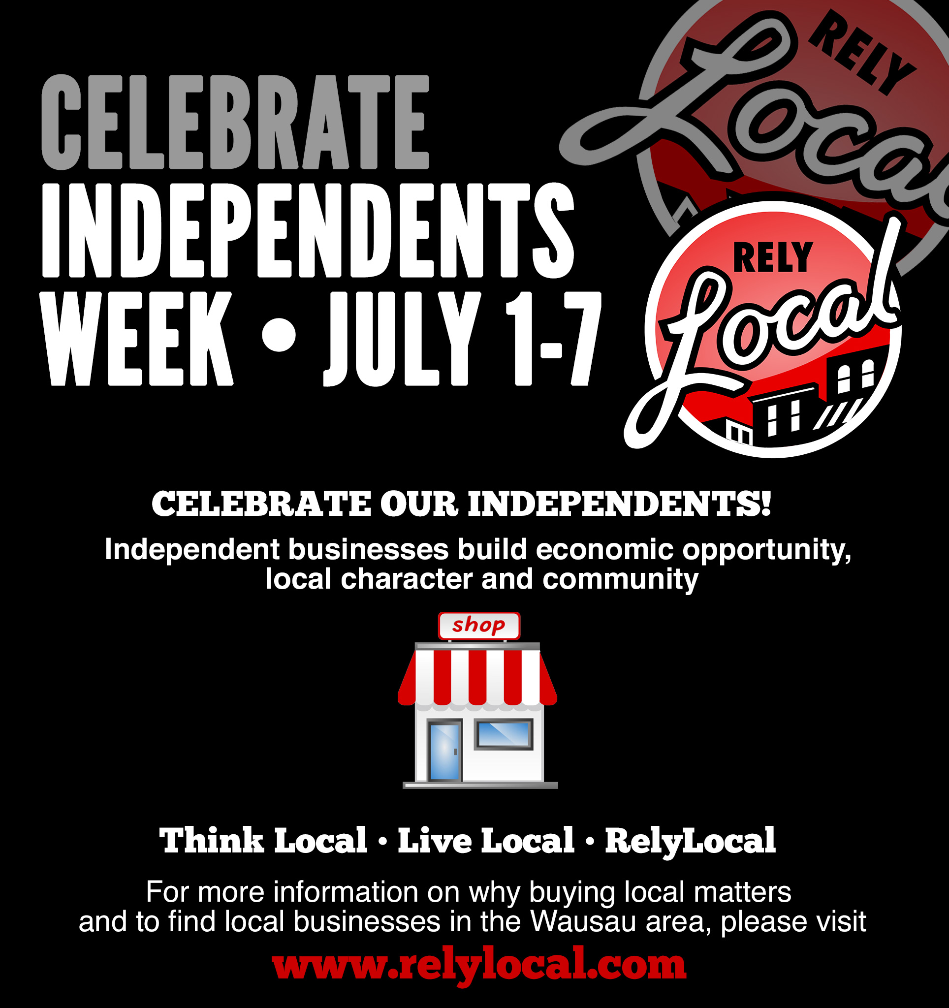 Celebrate Independents Week July 1-7