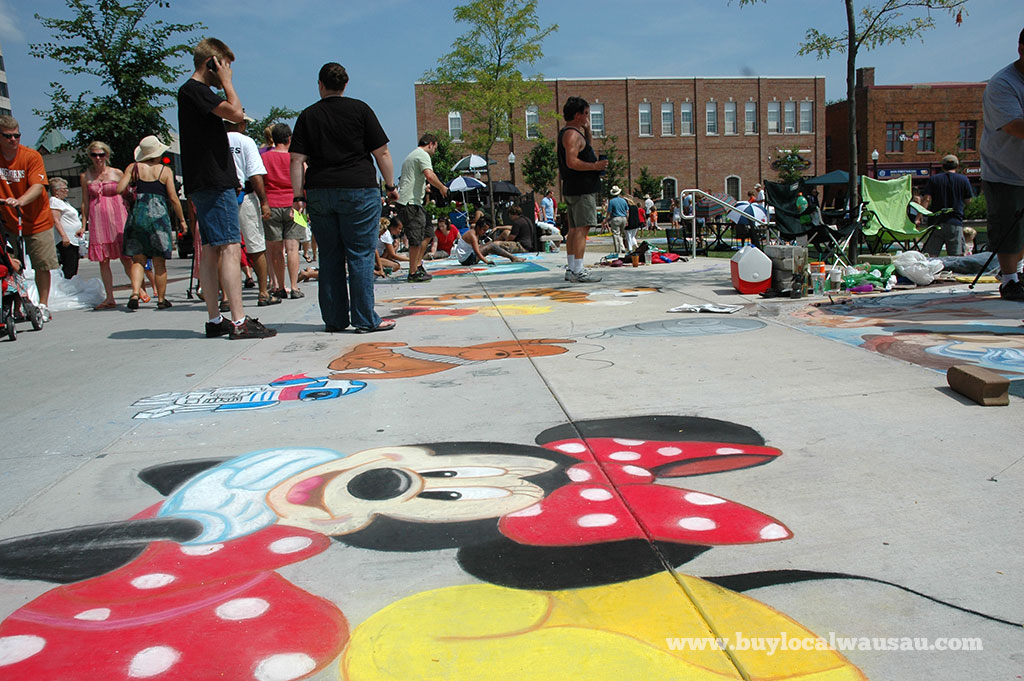 Wausau-Downtown-Chalkfest