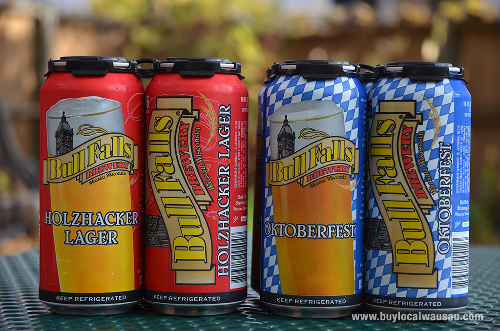 Wausau's Bull Falls Brewery beers now available in cans