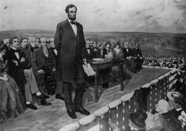 A Look at the Gettysburg Address at 150 Years Old