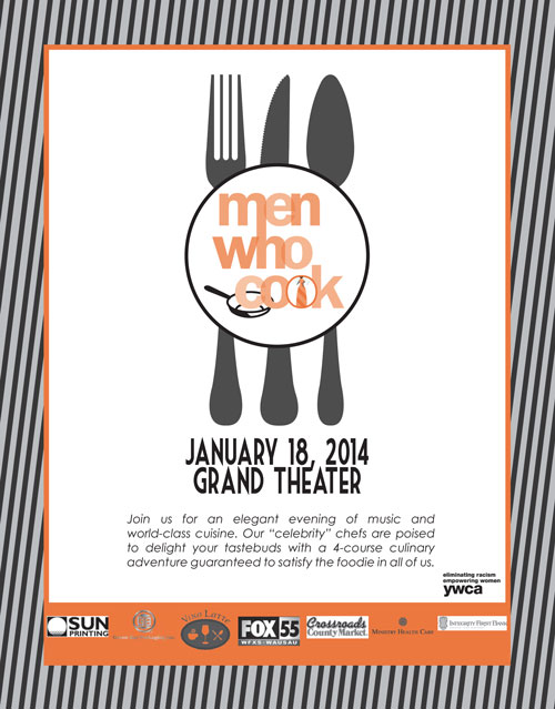 YWCA Wausau 2014 Men Who Cook Event