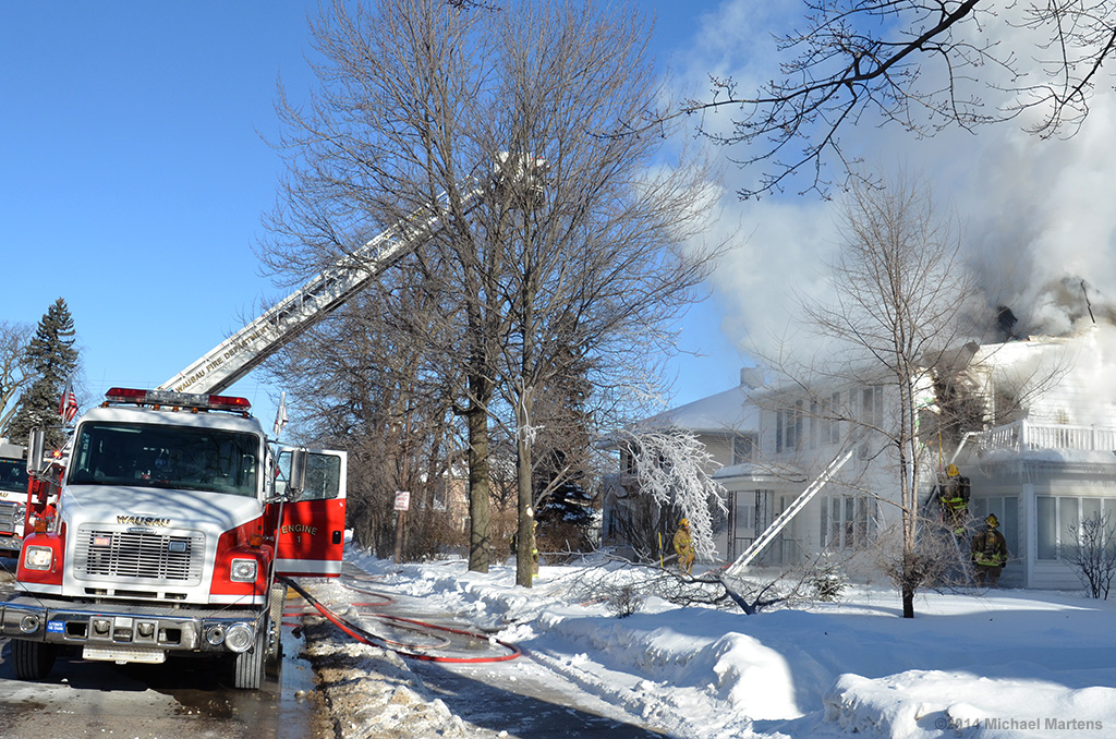 January house fire challenges Wausau Fire Department