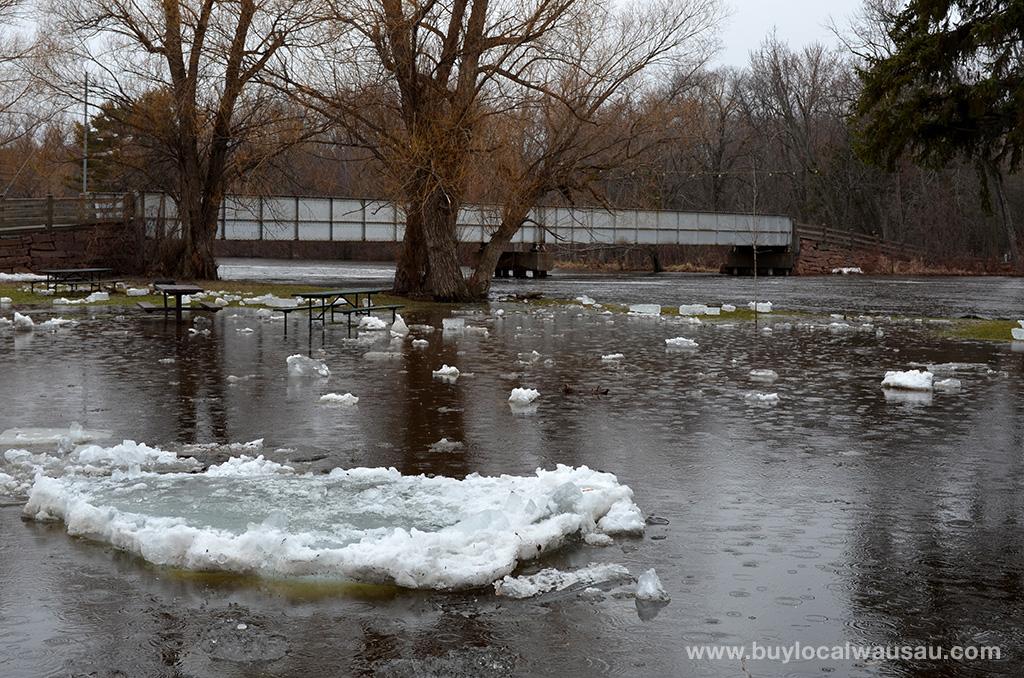 Oak-Island-Park-boat-landing-flooded