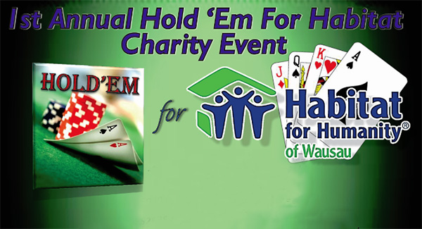 1st Annual Texas Hold 'Em for Habitat Charity Event