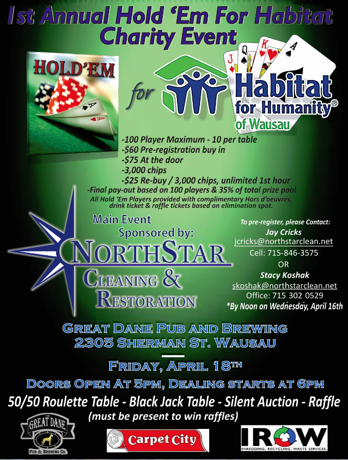 Texas Holdem Charity Event