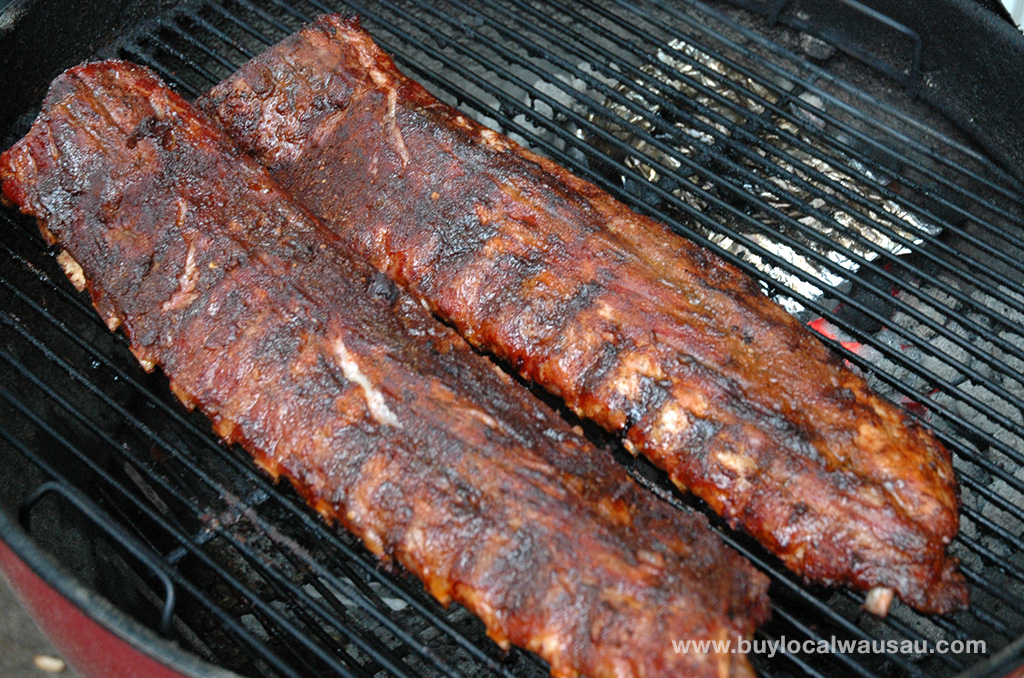 Memphis Style BBQ Pork Ribs