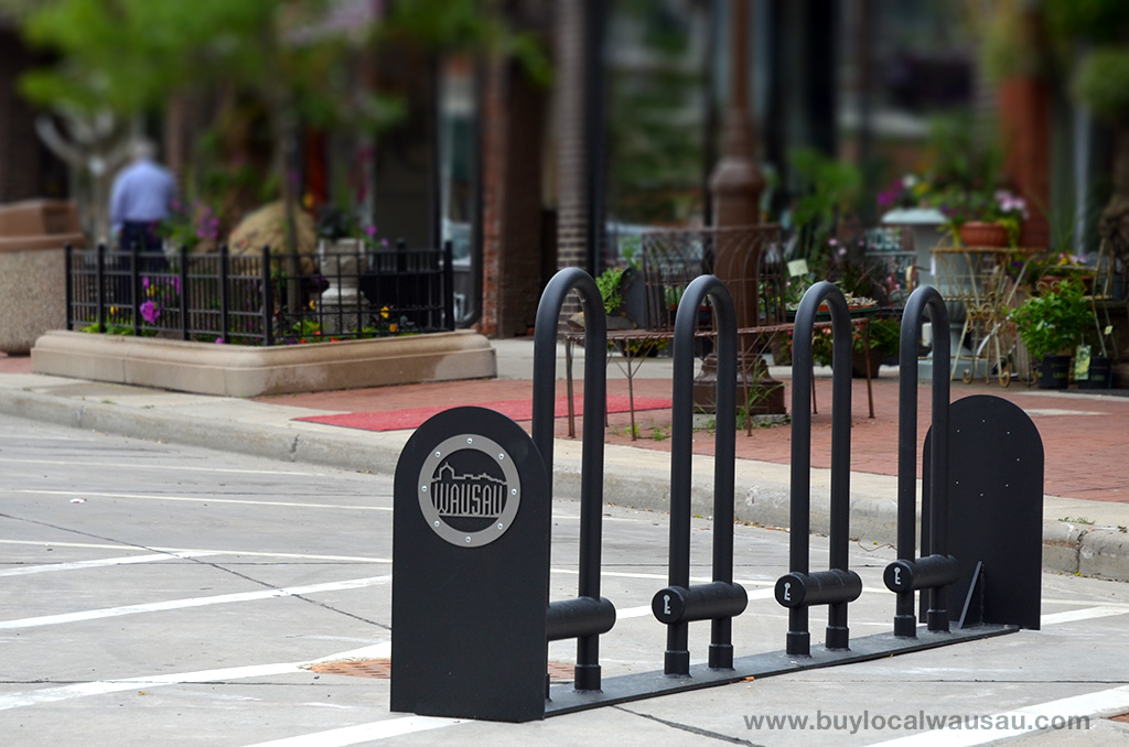 Downtown-Wausau-Bike-Rack-600-Block