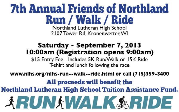 NLHS Run Walk Bike August 2013