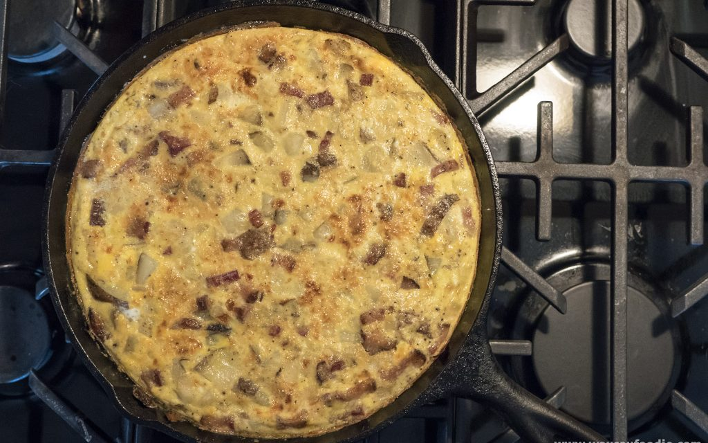 30 Minute Dinner: Make a Fritatta